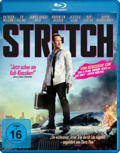 Stretch Blu-ray Review Cover