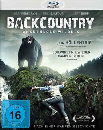 Backcountry - Gnadenlose Wildnis Blu-ray Review Cover
