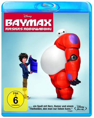 Baymax - Riesiges Robowabohu Blu-ray Review Cover