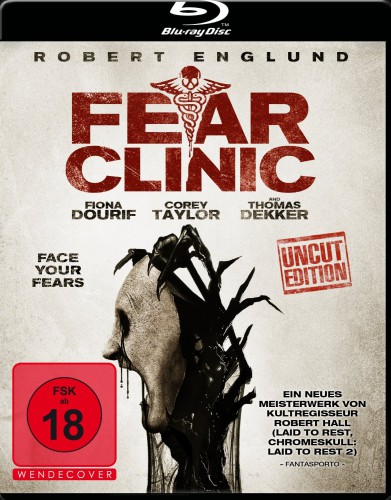 Fear Clinic Blu-ray Review Cover