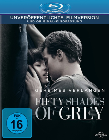Fifty Shades of Grey - Geheimes Verlangen Blu-ray Review Cover