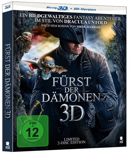 Fuerst der Daemonen 3D Blu-ray Review Cover