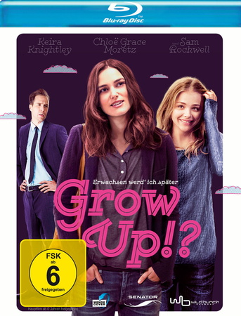 Grow Up! - Erwachsen werd ich später Blu-ray Review Cover