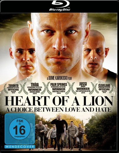 Heart of a Lion - A Choice Between Love and Hate Blu-ray Review Cover