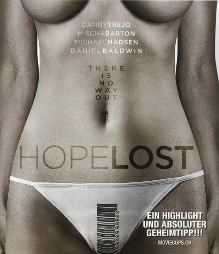 Hope Lost Blu-ray Review Cover