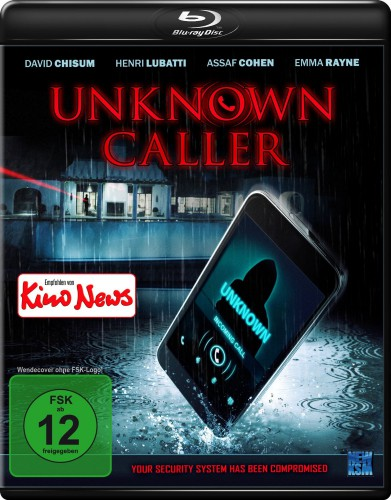 Unknown Caller Blu-ray Review Cover