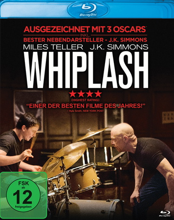 Whiplash Blu-ray Review Cover