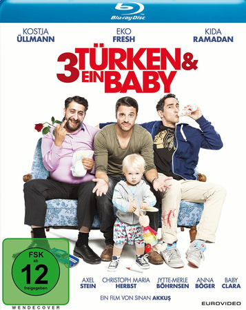 3 Männer & ein Baby Blu-ray Review Cover