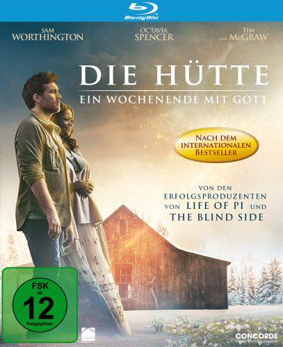 Die Hütte - Ein Wochenende mit Gott Blu-ray Review Cover