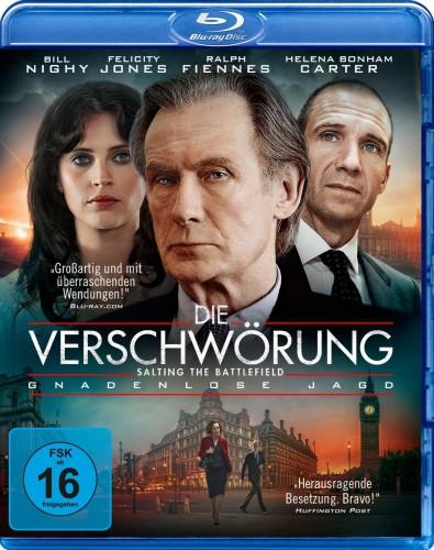 Die Verschwörung - Gnadenlose Jagd Blu-ray Review Cover