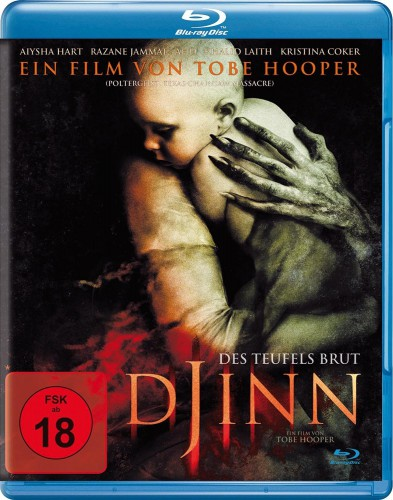 Djinn - Des Teufels Brut Blu-ray Review Cover