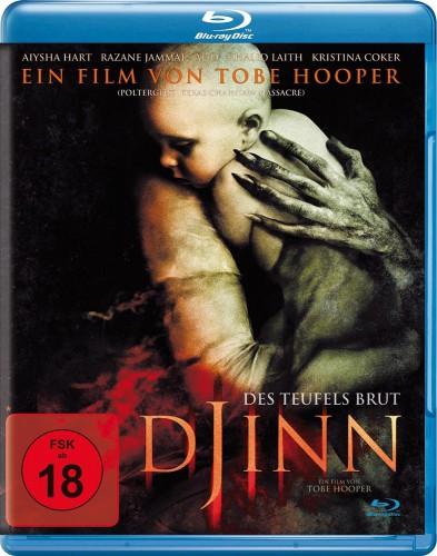 Djinn - Des Teufels Brut Blu-ray Review Cover