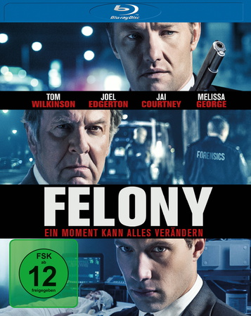 Felony - Ein Moment kann alles verändern Blu-ray Review Cover