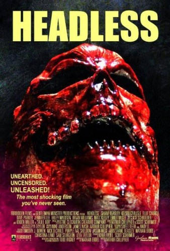 Headless Blu-ray Review Cover