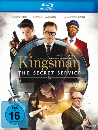 Kingsman The Secret Service Blu-ray Review Cover