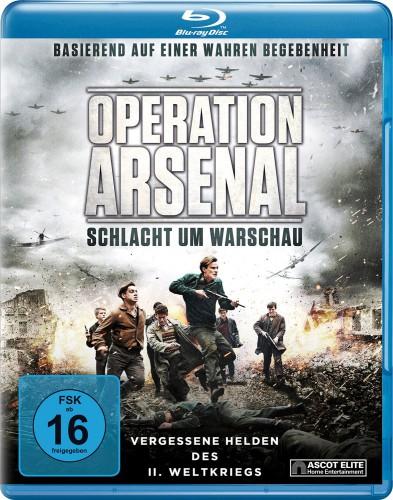 Operation Arsenal - Schlacht um Warschau Blu-ray Review Cover