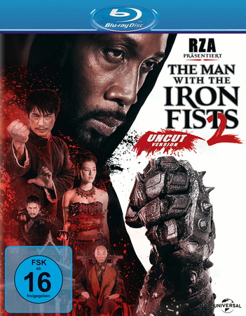 The Man with the Iron Fists 2 Blu-ray Review Cover