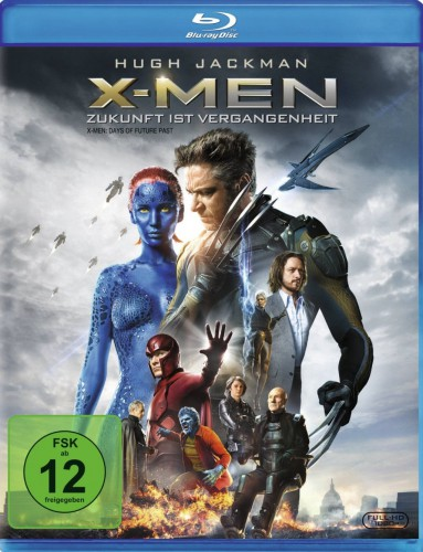 X-Men Zukunft ist Vergangenheit Blu-ray Review Cover