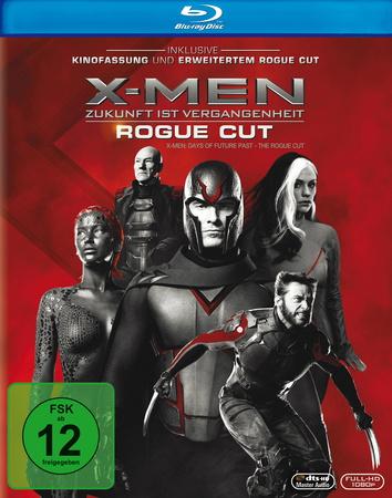 X-Men Zukunft ist Vergangenheit - Rogue Cut Blu-ray Review Cover