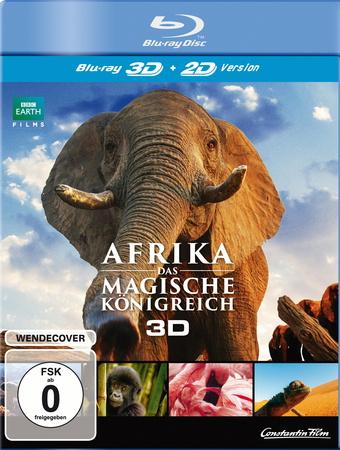 Afrika - Das magische Königreich 3D Blu-ray Review Cover
