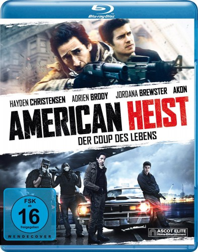 American Heist - Der Coup des Lebens Blu-ray Review Cover