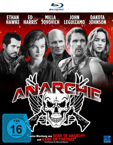 Anarchie Blu-ray review cover