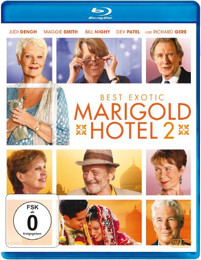 Best Exotic Marigold Hotel 2 Blu-ray Review Cover