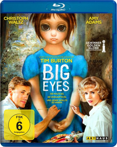 Big Eyes Blu-ray Review Cover