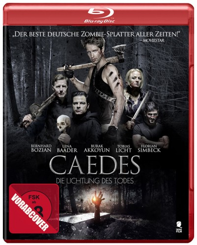 Caedes - Die Lichtung des Todes Blu-ray Review Cover