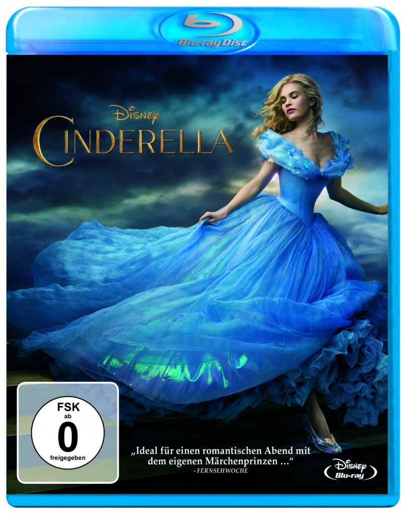 Cinderella Blu-ray Review Cover
