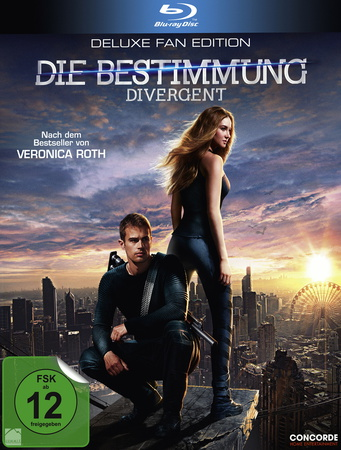 Die Bestimmung - Divergent Deluxe Fan Edition Blu-ray Review Cover