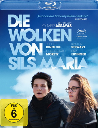 Die Wolken von Sils Maria Blu-ray Review Cover