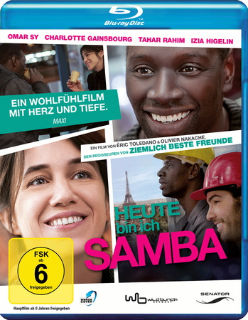 Heute bin ich Samba Blu-ray Review Cover
