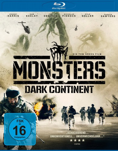 Monsters Dark Continent Blu-ray Review Cover