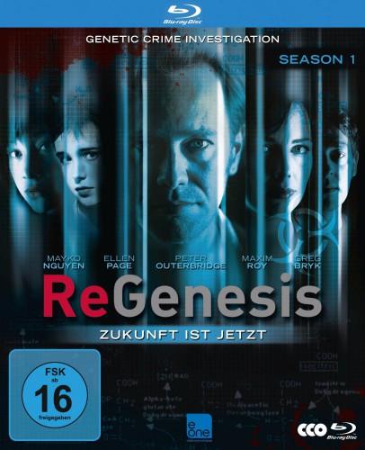 ReGenesis - Season 1 Zukunft ist jetzt Blu-ray Review Cover