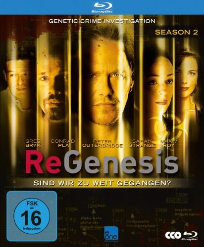 ReGenesis - Season 2 Sind wir zu weit gegangen Blu-ray Review Cover