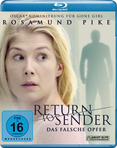 Return to Sender - Das falsche Opfer Blu-ray review Cover