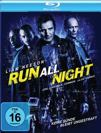 Run All Night Blu-ray review cover
