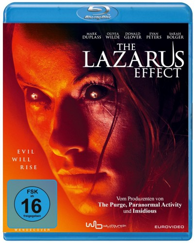 The Lazarus Effect - Evil Will Rise Blu-ray Review Cover