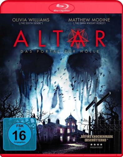 Altar - Das Portal zur Hölle Blu-ray Review Cover