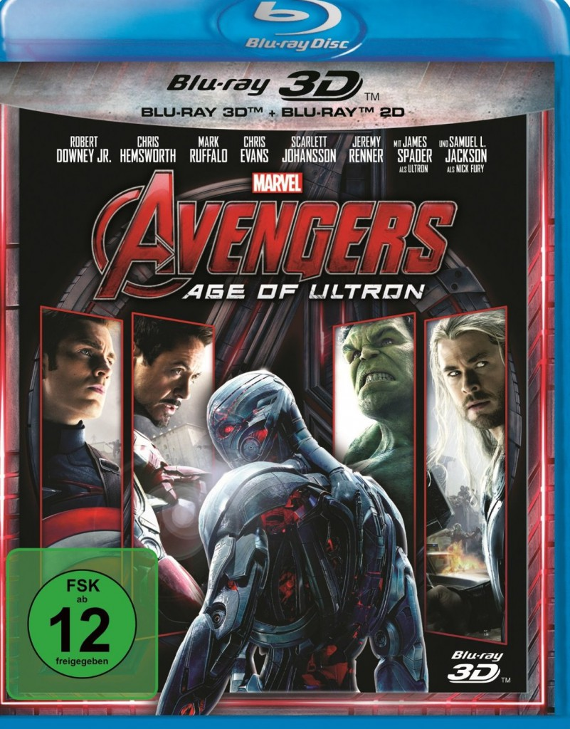 Avengers - Age of Ultron Blu-ray Review Cover