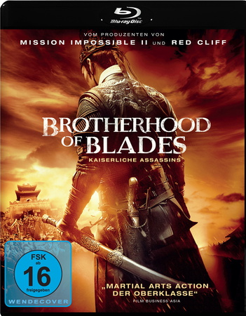 Brotherhood of Blades Kaiserliche Assassins Blu-ray Review Cover