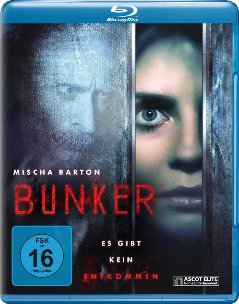 Bunker - Es gibt kein Entkommen Blu-ray Review Cover