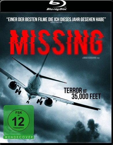 Missing - Terror at 35,000 Feet Blu-ray Review Cover