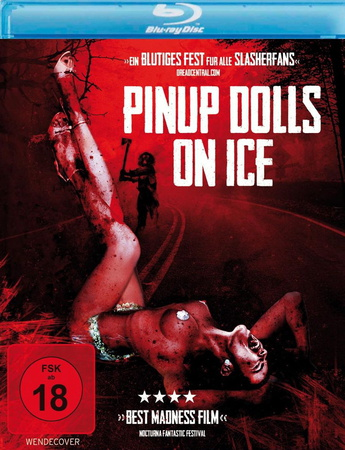Pinup Dolls on Ice Blu-ray Review Cover