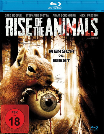 Rise of the Animals - Mensch vs. Biest Blu-ray Cover