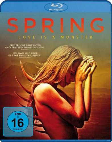 Spring - Love is a Monster Blu-ray Review Cover