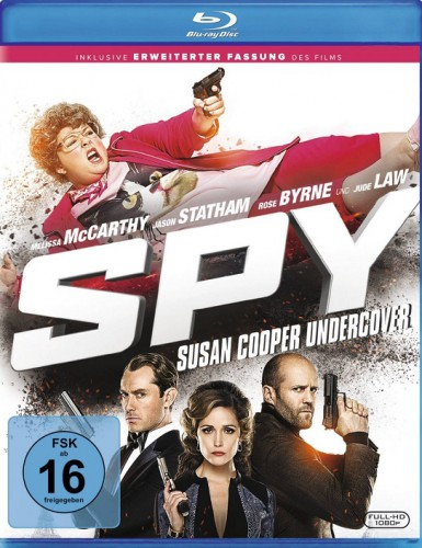 Spy Susan Cooper Undercover Blu-ray Review Cover