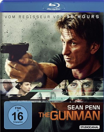 The Gunman Blu-ray Review Cover