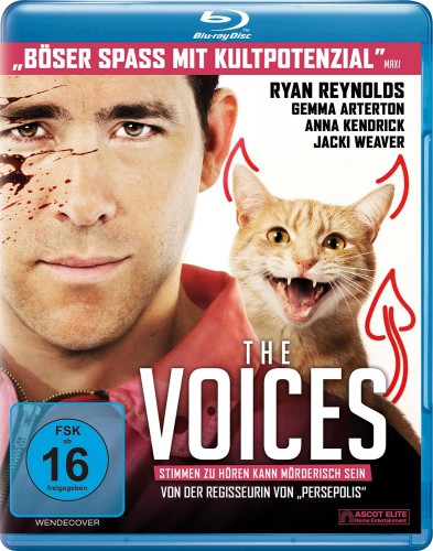 The Voices - Stimmen zu hören, kann mörderisch sein Blu-ray Review Cover